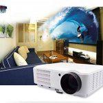1080P VidéoProjecteur LED vidéo Projecteur FULL HD 1920x1080 vidéoprojecteur 3D 4000 lumens Projecteur Home cinéma pour Jeux Vidéo Film Avec Ports d'entrée HDMI USB VGA RCA soutien PC PS4 XBOX WII DVD de la marque FR BRAND image 1 produit