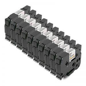 10x Compatible Ruban Cassette Laminé Brother TZe-231 TZ-231 Noir sur Blanc 12mm x 8m pour Tze Tape Brother P-Touch PT-1000 P700 GL-H100 GL-H105 GL-200 PT-1080 PTE-550WVP PT-P700 PT-H300 PT-1005 PT-1010 PT-1090 PT-1200 1080 de la marque Alaskaprint image 0 produit