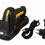 2.4G sans fil 1D/2D lecteur de codes-barres scanner de codes-barres IP65 résistance à la chute industrielle, la charge inductive, QR Code, AZTEC, MaxiCode, DataMatrix HDWR HD-SL99 de la marque HDWR image 1 produit