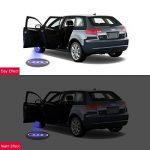 2 Pcs Voiture Porte LED Éclairage Entrée Laser Projecteur Courtoisie Bienvenue Lampe Ombre Logo Lumière Pour Porte de voiture décoratifs de la marque LiDiwee image 3 produit