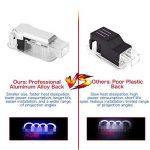 2 Pcs Voiture Porte LED Éclairage Entrée Laser Projecteur Courtoisie Bienvenue Lampe Ombre Logo Lumière Pour Porte de voiture décoratifs de la marque LiDiwee image 4 produit