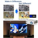 2018 LCD Android Bluetooth Projecteur 5000 Lumen LED Home Cinéma Smart HD Sans Fil Multimédia Extérieur Bluetooth Wifi Vidéo Projecteur pour Film Jeu Partie Coupe du Monde HDMI/USB/VGA/AV/Audio de la marque CAIWEI image 2 produit
