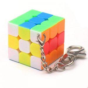 3cm Mini Petit 3x 3Cube magique porte-clés élégant cube de jouet et porte-clés créatif décoration de la marque Zantec image 0 produit
