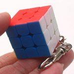 3cm Mini Petit 3x 3Cube magique porte-clés élégant cube de jouet et porte-clés créatif décoration de la marque Zantec image 4 produit
