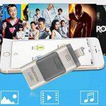 3en 1OTG externe Stylo lecteurs USB flash drive pour iPhone I-flash Memory Stick pour iPhone 8/7/6/6S/5/iPad téléphones Samsung 256 Go doré de la marque yoga_store image 4 produit