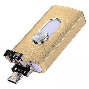 3en 1OTG externe Stylo lecteurs USB flash drive pour iPhone I-flash Memory Stick pour iPhone 8/7/6/6S/5/iPad téléphones Samsung 32 Go rose de la marque yoga_store image 0 produit