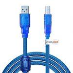 3m câble USB de transfert de données pour Epson Expression Premium XP-620All-in-One Printer–scanner à plat et d'impression rapide pour PC/Mac/Windows de la marque DHERIGTECH® image 1 produit
