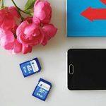 32Go carte mémoire SD par Keple   carte SD pour Optoma, BenQ, Viewsonic, Sony, Epson Home Cinema Projecteur de poche LED portable Compact avec SD Slot   High Speed SDcard Stockage de 32Go Classe 10UHS-1U1carte SDHC pour HD vidéos et photos de la marq image 4 produit
