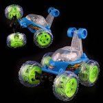 360 ° Spinning Flips enfants Télécommande Camion, Voiture à Télécommande pour Enfants Rouleau de Musique Voiture Grand de la marque Familizo image 1 produit
