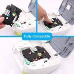 3x P Touch TZe Tape Compatible Brother TZe-231 TZ 231 Ruban pour étiqueteuse, 12mm x 8m Noir sur Blanc, Laminé Rubans pour PT-H100LB PT-H100 GL-H100 PT-H101C PT-1000 PT-1010 PT-1080 de la marque Wonfoucs image 1 produit