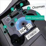 3xRuban pour Étiqueteuse Compatible Dymo D1 Etiquettes 40913 9mm x 7m, Noir sur Blanc, pour DYMO Label Manager 100, 120P, 150, 160, 200, 210D, 220P, 260P, 280, 300, 350, 350D, 360D, 400, 420P, 450, 450D, 500TS, PC, PC II, PnP de la marque Oozmas image 2 produit