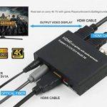 4K répartiteur HDMI 1x 2avec extracteur Audio HDMI + optique et R/L Sortie Audio Alimenté Splitter 1en 2Out Signal Distributor prise en charge 3d 4Kx2K pour Apple TV PS4Xbox One lecteur Blu-Ray DVD HD TV Vidéoprojecteur de la marque Loopelectronic image 3 produit