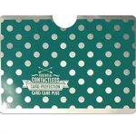 4x Turquoise à pois Carte rfid NFC blocage Clash Protection Anti Scan pour vos cartes de crédit de la marque Cosmic-Deals image 1 produit