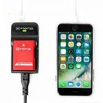 5 En 1 pour sony nP-f930 nP-f970 nP-f960 nP-f950 rAZER 600 chargeur baxxtar iI (70 % plus de puissance/100 % plus de flexibilité) -- nouveauté avec entrée micro uSB et sortie uSB pour charger simultanément un drittgerätes (caméra goPro, iPhone, tablette image 2 produit