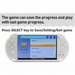 5 pouces Écran LCD 8 Go 64Bit Console de jeu rétro pour ordinateur de poche Jeux intégrés 1200 + sans répétition avec MP4 MP5 Fonction Support Arcade NEOGEO/CPS/FC/NES/SFC/SNES/GB/GBC/GBA/SMC/SMD/SEGA Console de jeux vidéo Support Ebook Enregistrement de image 3 produit