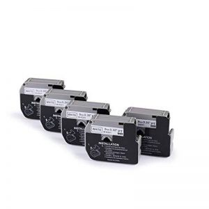 5 x Compatible avec Brother M-K221 MK221 Ruban d'étiquette MK-221 Ruban Adhésif Pour Étiqueteuse 9mm 8m Noir sur Blanc pour P-Touch PT-55 PT-60 PT-65 PT-75 Imprimante d'étiquettes Mintech de la marque yenlok image 0 produit