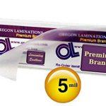 500Hot Grande Marque-page Pochettes de plastification 5mil 2–3/8x 8–1/2 de la marque Oregon Lamination Premium image 2 produit