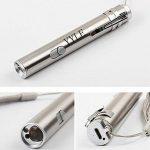 500LM 3en 1Mini lampe USB rechargeable LED UV Taschenlampe Pen multifonctionnelle en aluminium de la marque YYLE image 1 produit