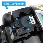 6x Rubans Cassettes pour Dymo D1 45013 45010 45016 45017 45018 45019 12mm x 7m, Compatible DYMO LM 160 280 210D MobileLabeler LabelManager PnP Plug de la marque Fimax image 1 produit