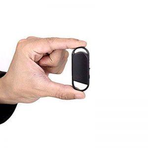 8 GB Mini enregistreur de voix espion enregistreur Keyring disque USB MP3 Player Portable Dictaphone Pour Professionnels, étudiants, Collection de preuve - sans Flashing/Signals de la marque Wiiguda image 0 produit