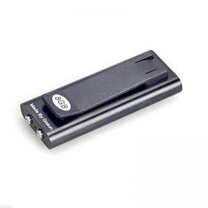 8G Dictaphone Numérique 90 Heures Temps d'enregistrement Super Long Flash Drive Digital Enregistreur Audio Rechargeable de la marque Prom-near image 0 produit