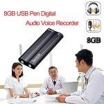 8G Dictaphone Numérique 90 Heures Temps d'enregistrement Super Long Flash Drive Digital Enregistreur Audio Rechargeable de la marque Prom-near image 1 produit