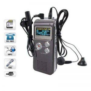 8GB LCD 650Hr Audio Numerique Enregistreur Dictaphone MP3 Rechargeable Espion (gris) de la marque EXCITES_FR image 0 produit