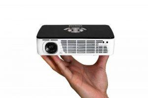 """AAXA Technologies P300 Pico 300ANSI lumens DLP WXGA (1280x800) Noir, Blanc vidéo-projecteur - Vidéo-projecteurs (300 ANSI lumens, DLP, WXGA (1280x800), 2000:1, 16:9, 254 - 3048 mm (10 - 120"""")) de la marque AAXA Technologies image 0 produit"""