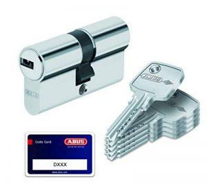 ABUS D6N50/60 33464 Cylindre de porte 50 x 60 mm Nickelé de la marque Abus image 0 produit