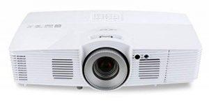 Acer V7500 RGBRGB 3D Full HD DLP-Projektor ( 2.500 ANSI Lumen, Full HD 1920 x 1080 Pixel, Kontrast 20.000:1, Ambient Light Sensor, Vertikaler Lens Shift ) weiß de la marque Acer image 0 produit