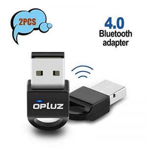 Adaptateur Bluetooth 2pcs, adaptateur réseau Bluetooth pour enceinte Bluetooth, casque Bluetooth, smartphone et tablette, imprimante Bluetooth, Bluetooth Vidéoprojecteur, PC/netbook de la marque Opluz image 0 produit