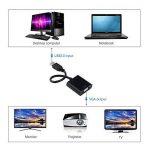 Adaptateur et convertisseur vidéo - USB 3.0 vers VGA - Pour carte vidéo externe - Affichage sur plusieurs écrans - Câble adaptateur pour affichage externe pour PC, ordinateurs portables, Windows 10 / 8.1 / 7 / XP de la marque Raycue image 2 produit