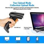 AGPtek 2,4GHz sans fil Barcode Scanner (2en 1sans fil 2,4GHz & USB2.0filaire) USB Automatique Barcode Reader de la marque AGPTEK image 2 produit