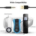 AGPTEK Câble Jack Audio 3,5 mm Mâle vers USB 2.0 Stéréo Auxiliaire 2 en 1 Câble de Transfert et de Charge pour MP4, Dictaphone et autres Appareils Portables, Compatible avec MP3 AGPTEK S12/S33/RP33- Noir de la marque AGPTEK image 4 produit