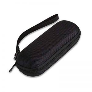 AGPTEK Etui Rigide en matériel EVA pour Dictaphone Numérique et Mp3, Housse Anti-choc et étanche, Noir de la marque AGPTEK image 0 produit