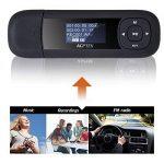 AGPTEK Lecteur Mp3 U3 8Go avec Ecran LCD, Noir et Rouge de la marque AGPTEK image 1 produit