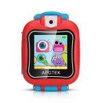 AGPTEK Smartwatch Montre Intelligent pour Enfant avec Caméra DE 90 degré et Jeux, Vidéo, Audio, Chronomètre, Enregistreur-Bracelet Connecté Enfant Rouge de la marque AGPTEK image 1 produit