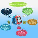 AGPTEK Smartwatch Montre Intelligent pour Enfant avec Caméra DE 90 degré et Jeux, Vidéo, Audio, Chronomètre, Enregistreur-Bracelet Connecté Enfant Rouge de la marque AGPTEK image 2 produit