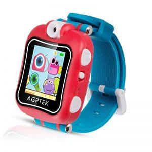 AGPTEK Smartwatch Montre Intelligent pour Enfant avec Caméra DE 90 degré et Jeux, Vidéo, Audio, Chronomètre, Enregistreur-Bracelet Connecté Enfant Rouge de la marque AGPTEK image 0 produit