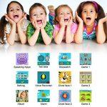 AGPTEK Smartwatch Montre Intelligent pour Enfant avec Caméra DE 90 degré et Jeux, Vidéo, Audio, Chronomètre, Enregistreur-Bracelet Connecté Enfant Rouge de la marque AGPTEK image 4 produit