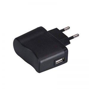 AGPTEK UC2B Chargeur 5V 500mA Adaptateur Secteur USB pour Lecteur Mp3 et Dictaphone/Enregistreur Vocal- Noir de la marque AGPTEK image 0 produit