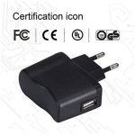 AGPTEK UC2B Chargeur 5V 500mA Adaptateur Secteur USB pour Lecteur Mp3 et Dictaphone/Enregistreur Vocal- Noir de la marque AGPTEK image 4 produit