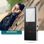 Aibecy 16 Go Lecteur de musique MP4 avec haut-parleur intégré Radio FM Dictaphone E-livre Vidéo Image Parcourir fonction pour les amateurs de musique Étudiants de la marque Aibecy image 2 produit
