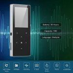Aibecy 16 Go Lecteur de musique MP4 avec haut-parleur intégré Radio FM Dictaphone E-livre Vidéo Image Parcourir fonction pour les amateurs de musique Étudiants de la marque Aibecy image 3 produit