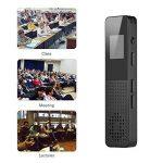 Aibecy 16Go enregistreur vocal numérique MP3 Music Player Activer l'enregistrement audio avec fente pour carte haut-parleur pour les étudiants conférences de la marque Aibecy image 1 produit