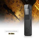 Aibecy 16Go enregistreur vocal numérique MP3 Music Player Activer l'enregistrement audio avec fente pour carte haut-parleur pour les étudiants conférences de la marque Aibecy image 3 produit