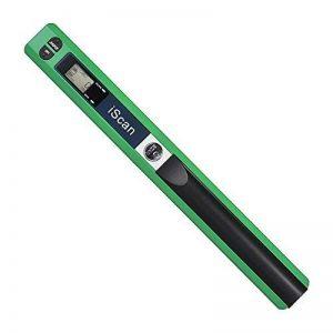 Aibecy A4 Scanner de Poche Scanner de Documents 900DPI Format: JPG / PDF LCD avec sac de protection USB 2.0 Vert de la marque Aibecy image 0 produit