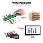 Aibecy A4 Scanner de Poche Scanner de Documents 900DPI Format: JPG / PDF LCD avec sac de protection USB 2.0 Vert de la marque Aibecy image 2 produit