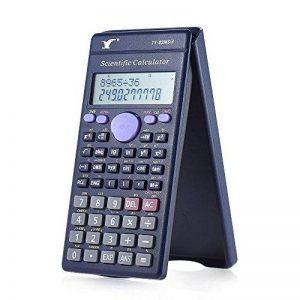 Aibecy Calculatrice Scientifique 240 Fonctions 2 Lignes LCD d'Affichage Lycée Moyen Etudiants SAT / AP Calculer Compteur de la marque Aibecy image 0 produit