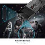 Aibecy M23 16Go Enregistreur Vocal numérique Professionnel Lecteur de Musique MP3 Enregistrement Audio activé avec Fente pour Carte de Haut-Parleur pour Les conférences Réunion Noir de la marque Aibecy image 4 produit